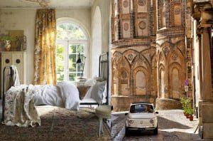 Chambre à coucher inspirée de l'Italie