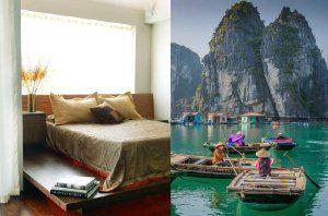 Chambre à coucher inspirée du Vietnam