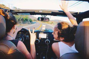 Jeux en voiture