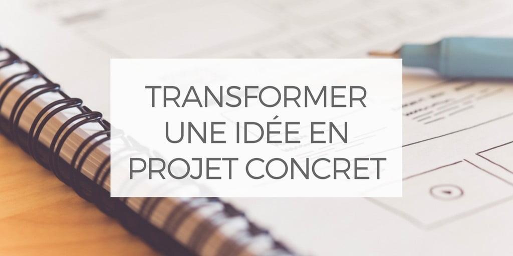 comment transformer une id e en projet concret la mallette. Black Bedroom Furniture Sets. Home Design Ideas