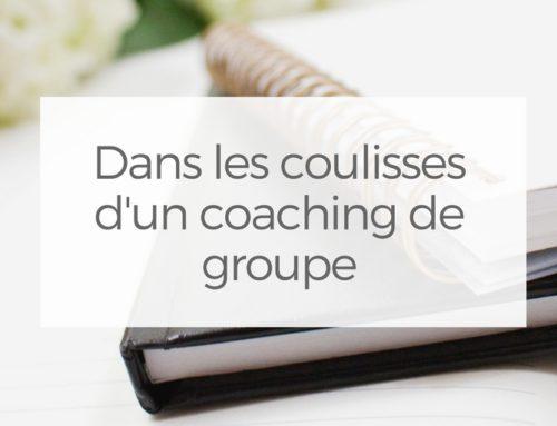 Dans les coulisses d'un coaching de groupe