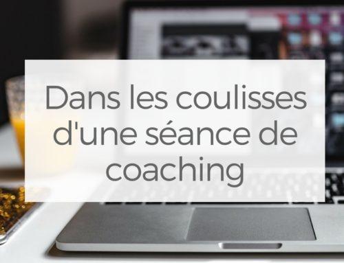Dans les coulisses d'une séance de coaching